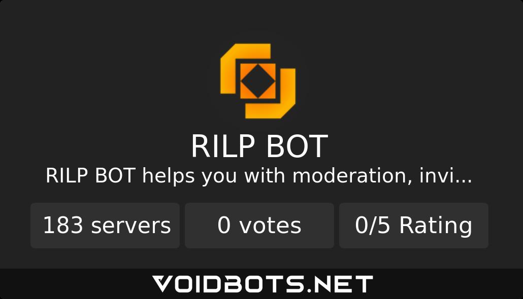 RILP BOT's stats on Void Bots